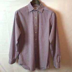 Brooks Brothers long sleeve button up shirt 15.5